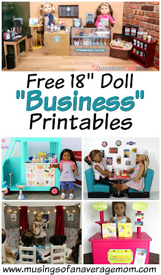 American girls business printables