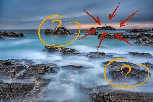 حجم وأبعاد عناصر مشهد الصورة