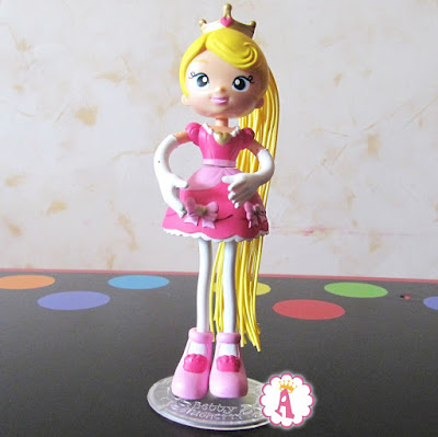 Розовое платье для куклы конструктора Betty Spaghetty Princess