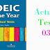 Listening TOEIC Of The Year - Actual Test 03