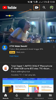 Cara Upload Video Youtube Pakai HP Android