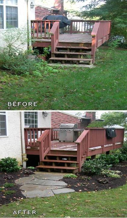 Before And After 15 Easy Curb Appeal Ideas Home Decor