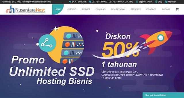 Nusantarahost - Daftar Web Hosting Terbaik Di Indonesia 2018