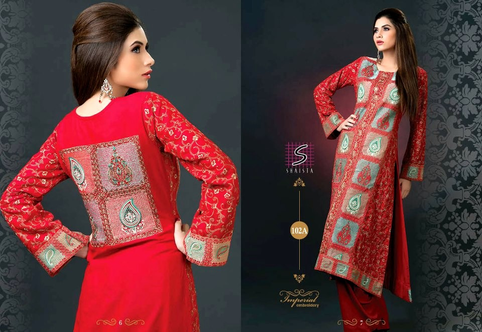 4bd0404e8d New Arrivals Imperial Embroidery Dresses By Shaista's Cloth | UB ...