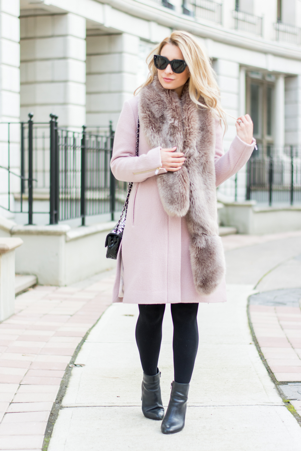 Ootd Finding The Perfect Pink Coat La Petite Noob A Toronto Based Fashion And Lifestyle Blog
