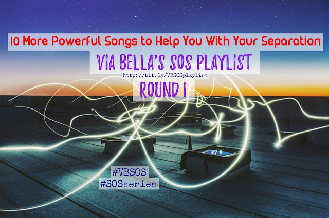10 More Powerful Songs to Help With Your Separation (Round I) {SOS Playlist}, SOS series, shades of separation, music, separation, divorce, love, heart break, songs, heart break songs, broken heart,