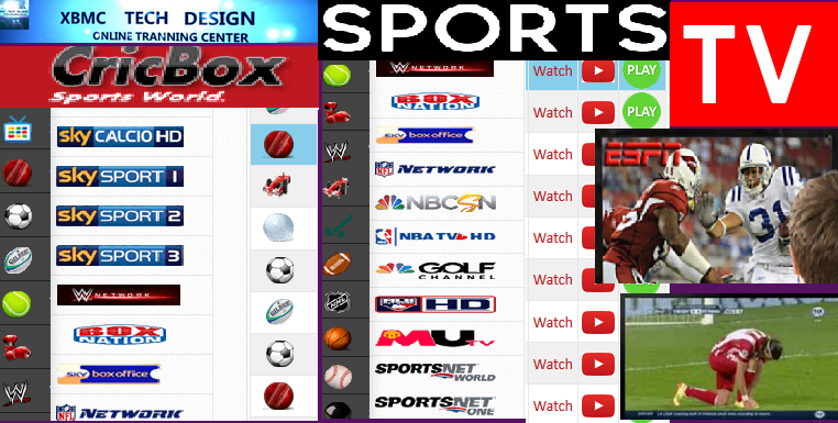 Download Install Free CricBox TV For Watch World Live Tv Sports on Android,PC or Other Device Through Internet Connection with Using Browser.      Quick Install CricBoxTV Watch Free World Premium Cable Live Sports Channel on Any Devices