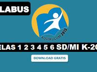 Silabus Kelas 1 2 3 4 5 6 SD/MI K-2013 Revisi 2018