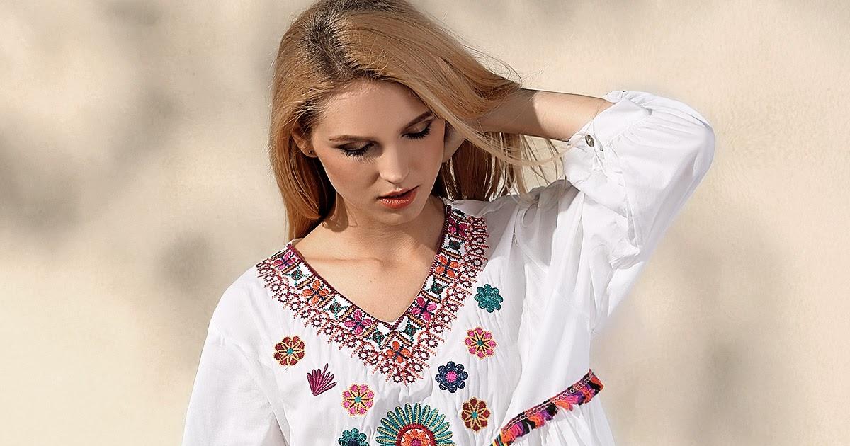 About Embroidery Dress by Zaful