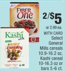 big box cvs couponers General Mills cereals deals