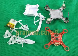 cara servis rangkaian drone syma X12S