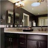 Bathroom Designs Dark Cabinets Elegant