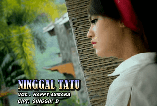 Lirik Lagu Ninggal Tatu - Happy Asmara