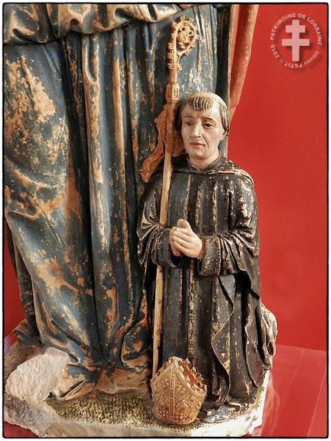 TOUL (54) - Musée d'Art et d'Histoire : Statues renaissance de Sainte Marie-Madeleine et Sainte Catherine