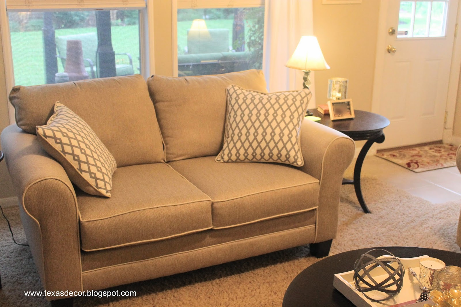 How To Re Plump Leather Sofa Cushions Fabric And Loveseat Restuffing Couch Home Improvement