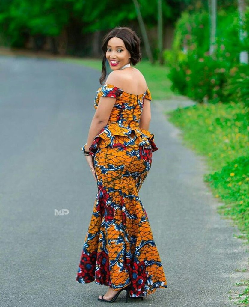 Awesome Ankara Skirt And Blouse Styles 2018 For African