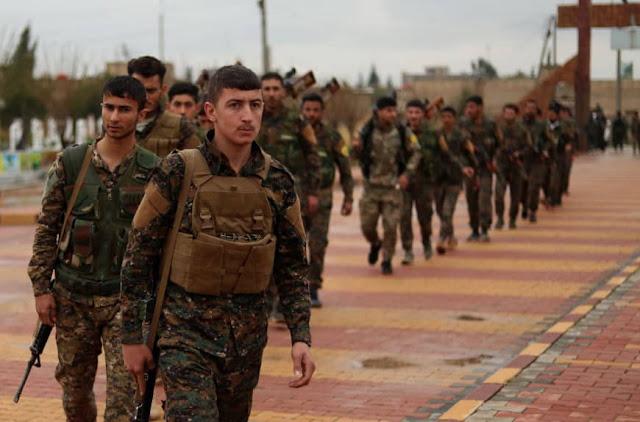 Το Αμερικανικό Πεντάγωνο Προσπαθεί να Καθησυχάσει τους Κούρδους της Συρίας