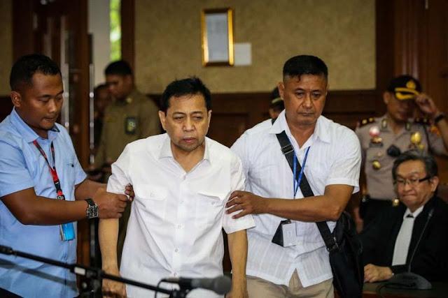 27 Pihak Yang Diperkaya Duit Haram Proyek e-KTP Dalam Dakwaan Novanto