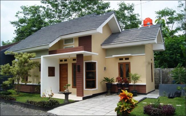 Model Bentuk rumah minimalis sederhana Tipe 45