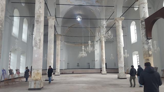 Eskişehir Sivrihisar Ermeni Kilisesi içerisi...
