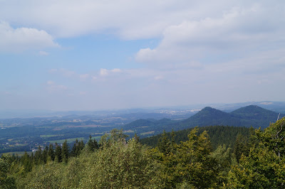 Starościńskie skały panorama Sokoliki