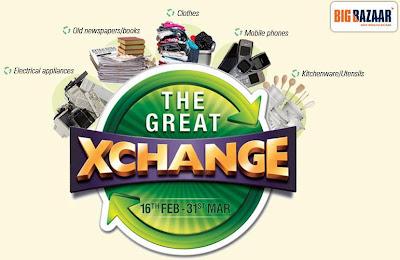Big Bazaar Great Xchange Offer Exchange Offer Details Of Big