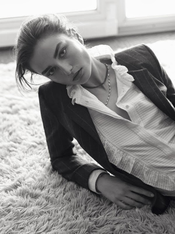 Andreea Diaconu for Isabel Marant Étoile - Cool Chic Style Fashion