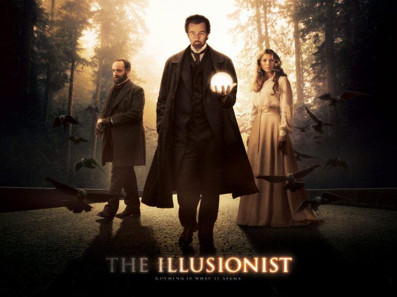 Película: El ilusionista.