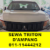 Four Wheels Triton Rental Area KL / Gombak / Ampang