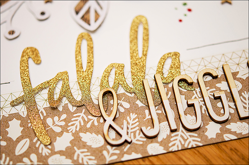 Stephanie Berger - Scrapbooking - Dani Peuss - Falala and Jiggle