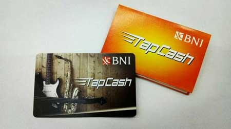 Top Up Saldo TapCash BNI Tapi Status Pending
