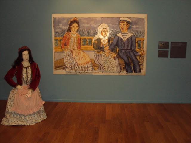 Επίσκεψη του Εσπερινού ΓΕ.Λ. Ναυπλίου στην έκθεση έργων του ζωγράφου Θεόφιλου