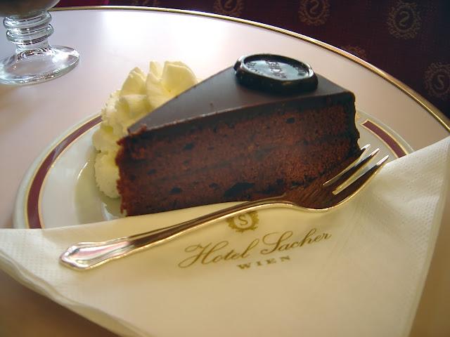 Tarta Sacher, Viena