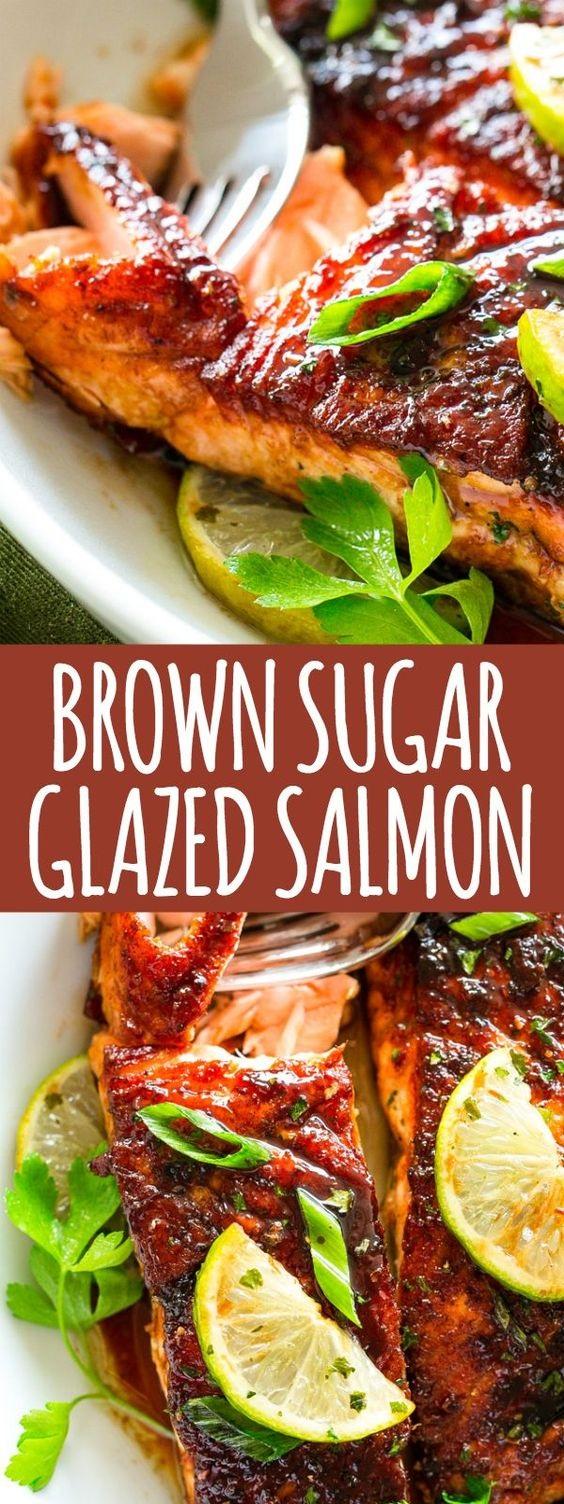 Brown Sugar Glazed Salmon Recipe