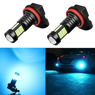 [Apps | Software | Kit] Alla Lighting 2000 Lumens High Power 3030 36-SMD Extremely Super Bright 8000K Ice Blue H11LL H8LL H11 H8 H16 LED Bulbs for Fog Driving Light Lamps Replacement