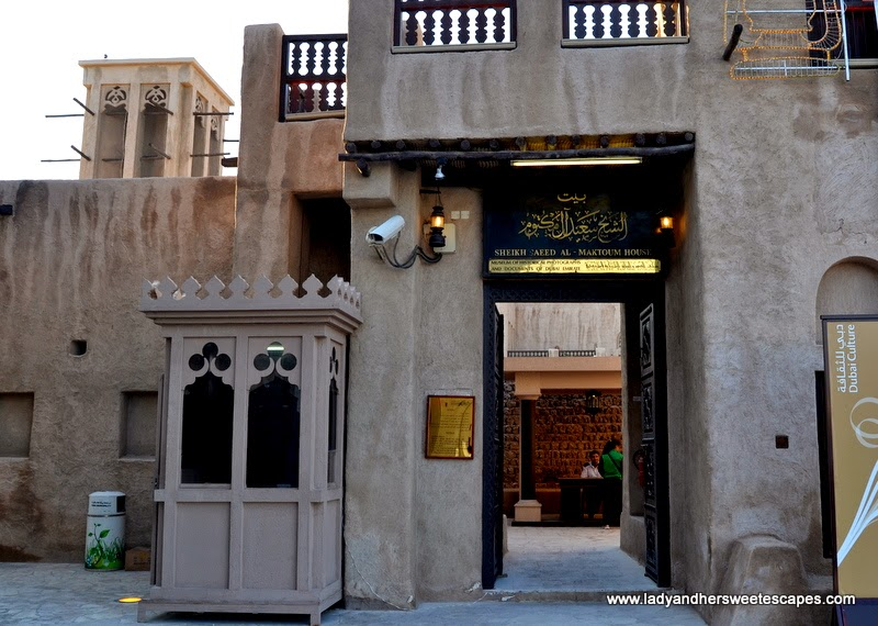 Sheikh Saeed's House in Al Shindagha Dubai