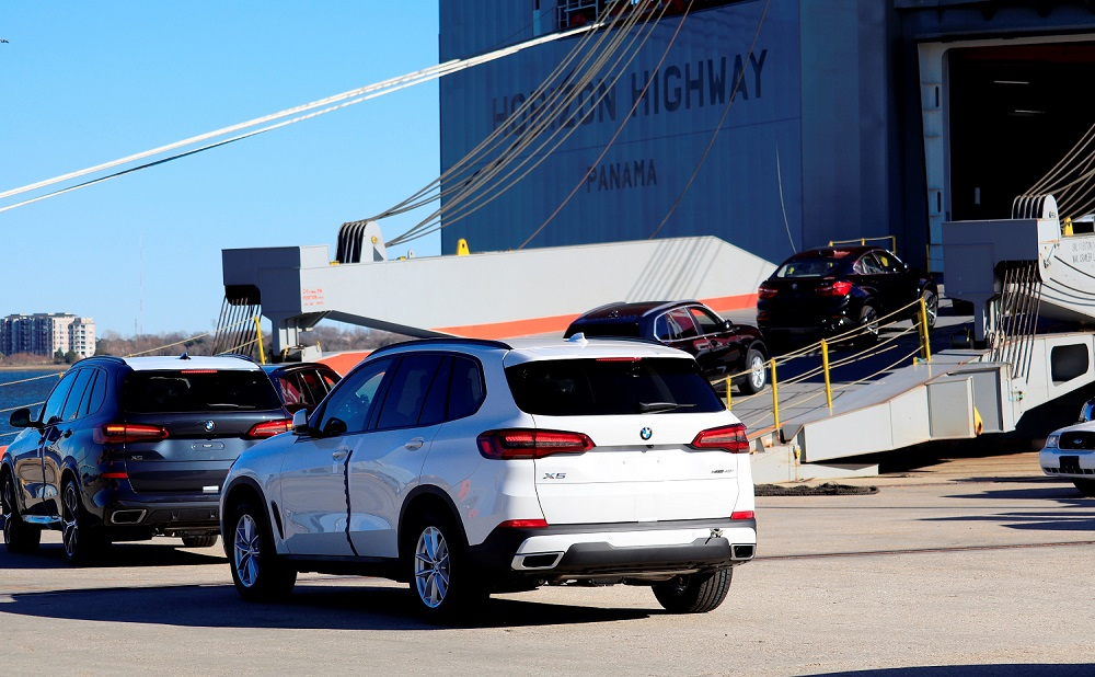 BMW continues as largest U.S. automotive exporter by value