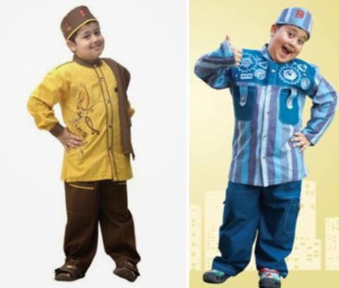 Model Baju Muslim Anak Laki Laki Terbaru