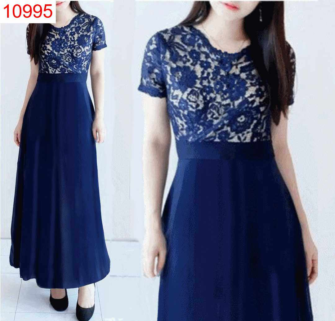 DRESS CLARISSA NAVY - 10995