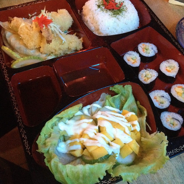 Special bento A at Joed's