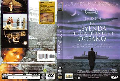 Carátula dvd: La leyenda del pianista en el océano (1998)