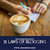 31 Laws Of Blogging