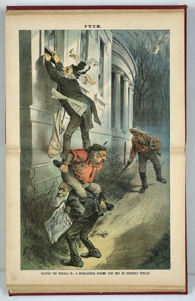 typo of the day for librarians burgler burglar for burglar