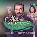 """VÍDEO: """"Mar de Amores"""" llega a Argentina de la mano de Telefe"""