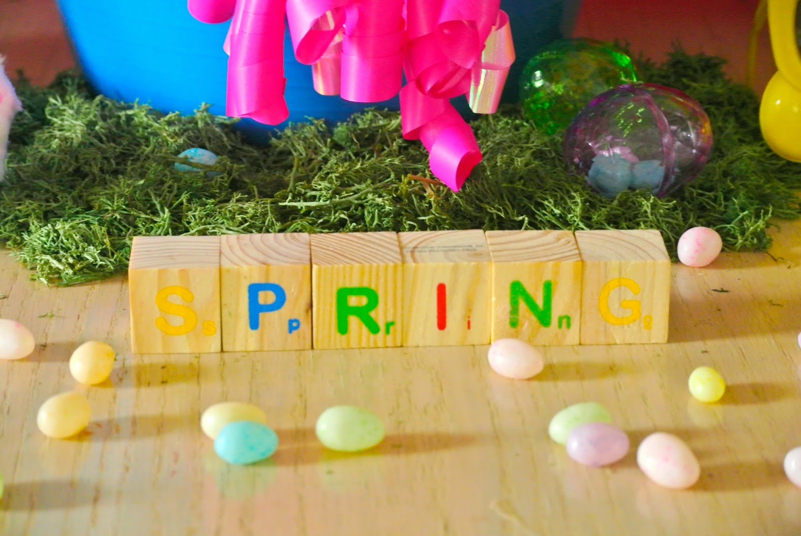 Spring table, Spring decor