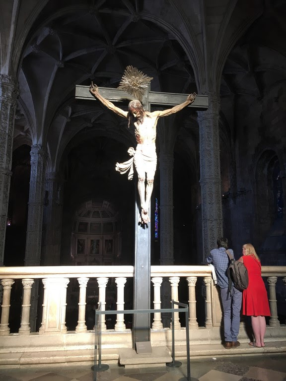 Mosteiro dos Jerónimos - Cristo Crucificado
