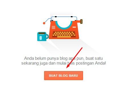 Panduan Membuat Blog baru di Blog