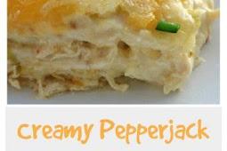 Creamy Pepper Jack Chicken Enchiladas Recipe