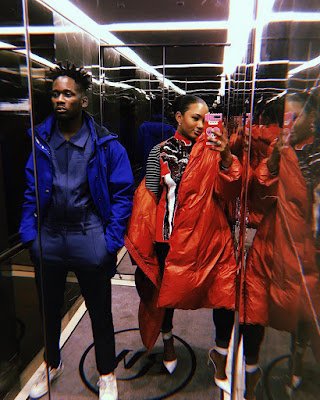 Mr Eazi and Temi Otedola latest photos