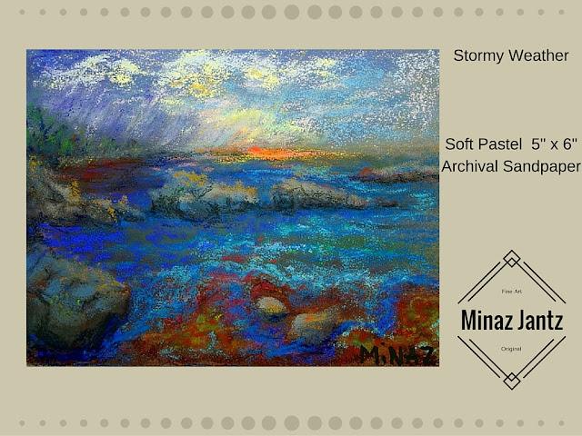 Stormy Weather by Minaz Jantz